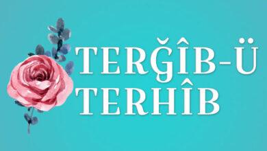 Photo of Terğîb-ü Terhîb